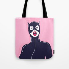 Cat Woman Tote Bag