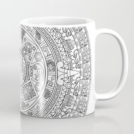Aztec Cthulhu Vector Coffee Mug