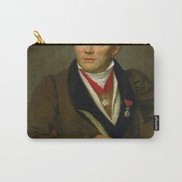 Jacques-Louis David - Portrait of French archaeologist Alexandre Lenoir Carry-All Pouch