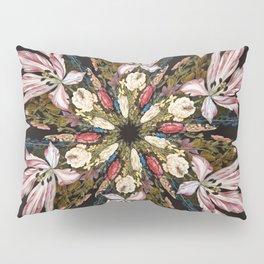 Flemish Floral Mandala Pillow Sham