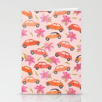 volkswagen Stationery Cards featuring Volkswagen by Abby Galloway
