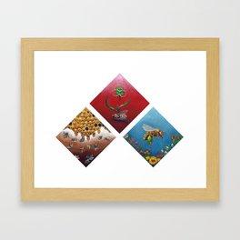 The Future of the Honey Bee Framed Art Print