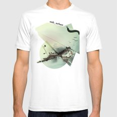roma parco White SMALL Mens Fitted Tee