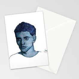 Head of Lou Reed Stationery Cards