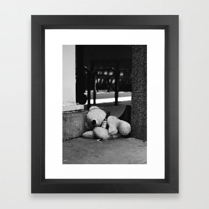 Rough Night Framed Art Print