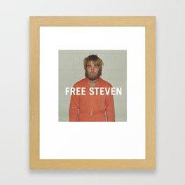 Free Steven Framed Art Print