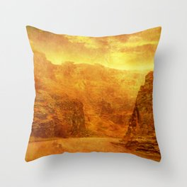 Scorching Gorge. Throw Pillow