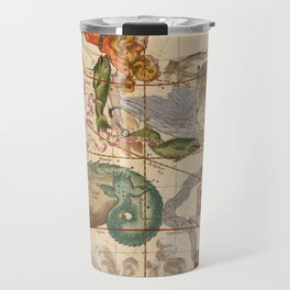 Star Atlas Vintage Constellation Map Ignace Gaston Pardies Travel Mug
