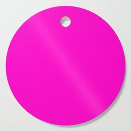Fluorescent neon pink | Solid Colour Cutting Board