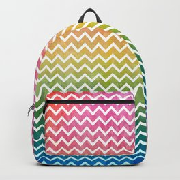 abstract lines vintage pattern Backpack