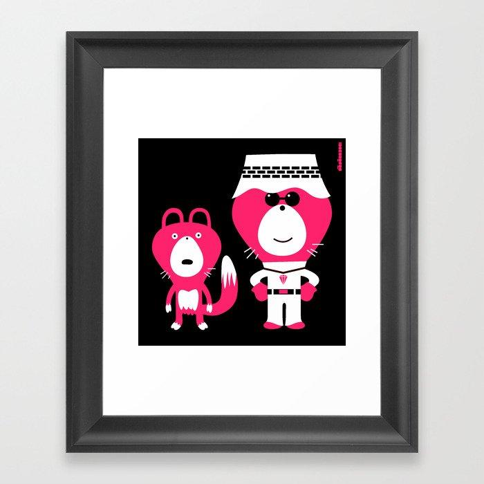 wonderlust : idokungfoo.com Framed Art Print