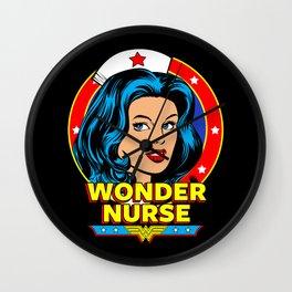 Wonder Nurse Wall Clock