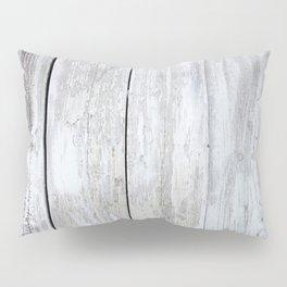 White wood Pillow Sham