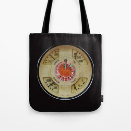 Custom Car Instrument Design with Lucky Roulette Wheel Tote Bag