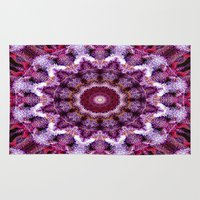 northern lights Area & Throw Rugs featuring Northern Lights by 420Fractals
