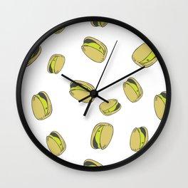 Pistachios  Wall Clock