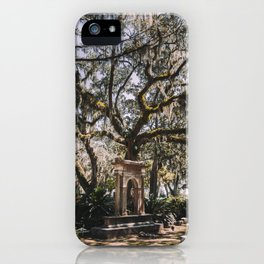 Bonaventure Cemetery - Savannah, Georgia III iPhone Case