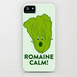 ROMAINE CALM iPhone Case