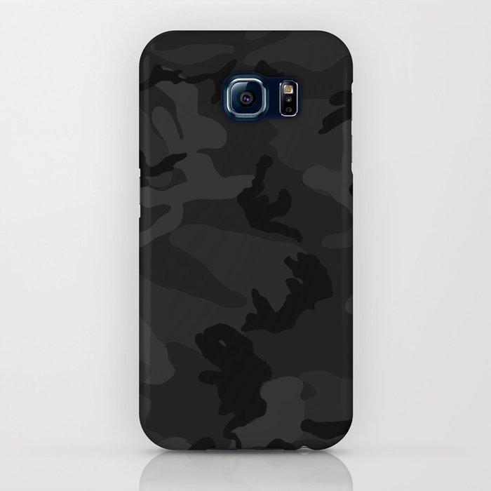 Camouflage Black iPhone Case