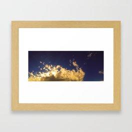 waking moments Framed Art Print