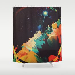 ANDRØMEDAE Shower Curtain