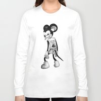 mickey Long Sleeve T-shirts featuring Mickey by wa55up