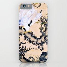 Ito Jakuchu - Dead Wood And Eagle, Monkey - Digital Remastered Edition iPhone Case
