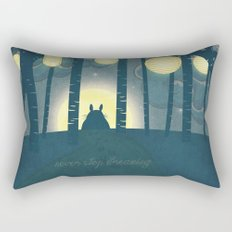 Totoro ' s Dream  Rectangular Pillow