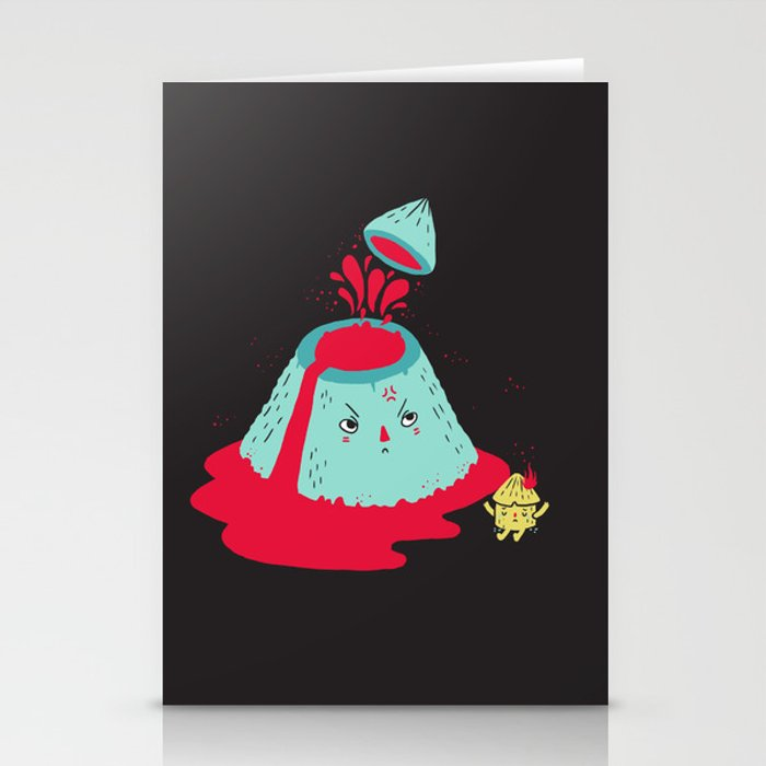 Watch Your Temper Stationery Cards