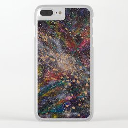 Universal Space Clear iPhone Case