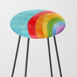 rainbow Counter Stool