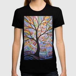 Abstract Art Landscape Original Painting ... Here Comes the Sun T-shirt