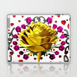 Love rose breaks all chains, hatetolove Laptop & iPad Skin