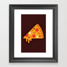 Pizza Framed Art Print