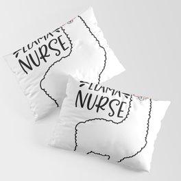 Llama Nurse Pillow Sham