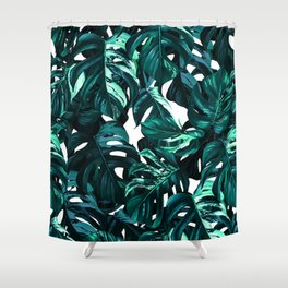 TROPICAL GARDEN IX Shower Curtain