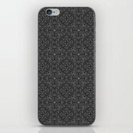 Gray Swirl Pattern iPhone Skin