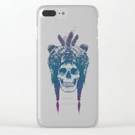 Dead shaman Clear iPhone Case