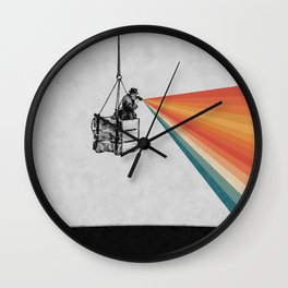 Looking for the right angle ... Wall Clock