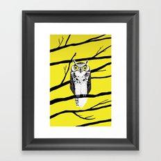 Great Owl Framed Art Print