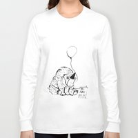 birthday Long Sleeve T-shirts featuring Birthday by Emily Stalley