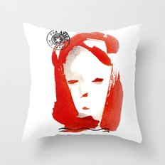 Carte Postale 1 Throw Pillow