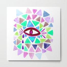 Crystaleyes 3 Metal Print