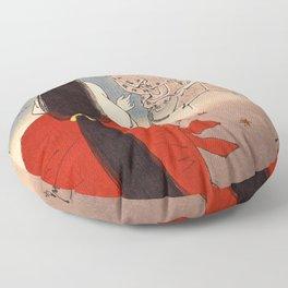 12,000pixel-500dpi - Tsukioka Yoshitoshi - Top Quality Art - IGANOTUBONE Floor Pillow