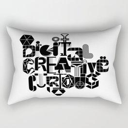 Digital Creative Curious by Extraverage Rectangular Pillow