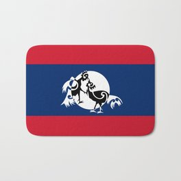 Laos, Roosters Sparring Bath Mat