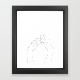 tendresse Framed Art Print