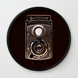 Rolleicord art deco Wall Clock