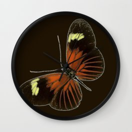 Untitled Butterfly Wall Clock