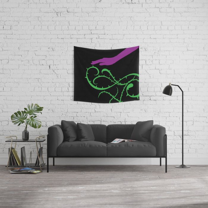 The Deadly Touch Wall Tapestry